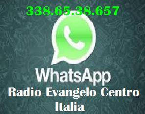 RADIO EVANGELO CENTRO ITALIA WTSSAP
